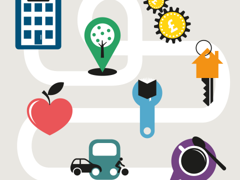 Thumbnail icon for our social determinants of health infographic