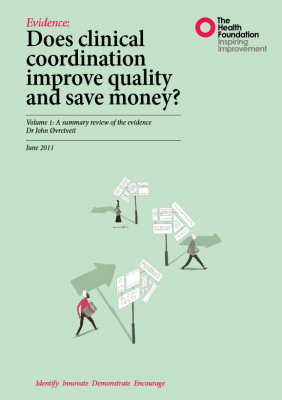 Does clinical coordination improve quality and save money?