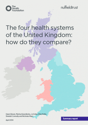 The four health systems of the United Kingdom: how do they compare?