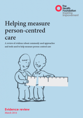 Helping measure person-centred care