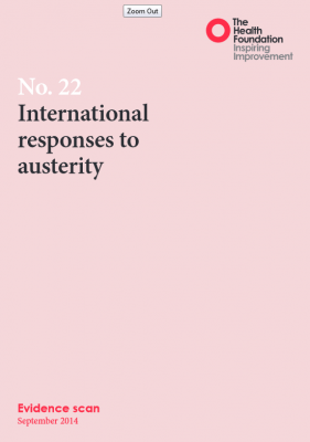 International responses to austerity