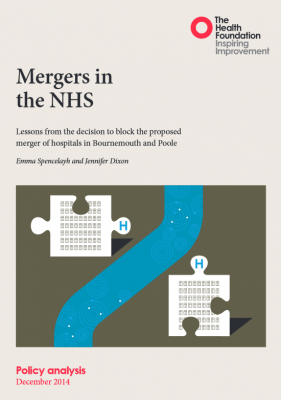 Mergers in the NHS