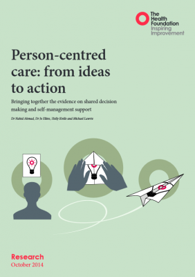 Person-centred care: from ideas to action