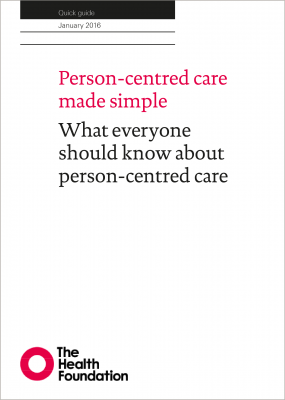 Person-centred care made simple