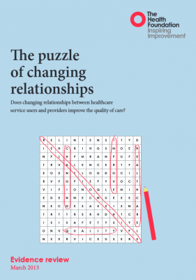 The puzzle of changing relationships