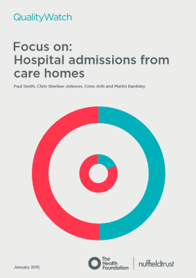 QualityWatch: Focus on hospital admissions from care homes