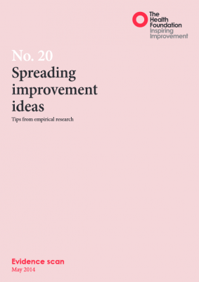 Spreading improvement ideas: Tips from empirical research