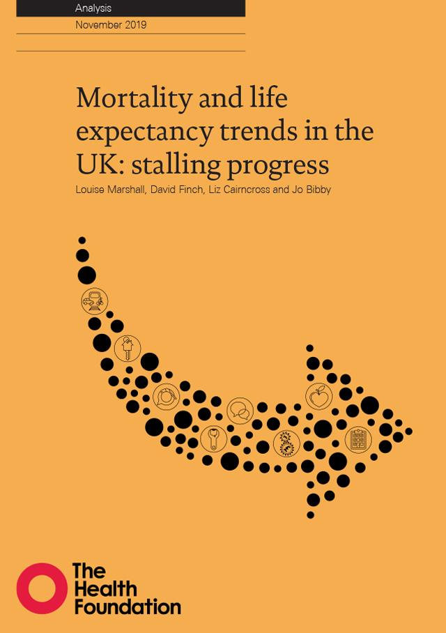 Front cover of Mortality and life expectancy trends in the UK