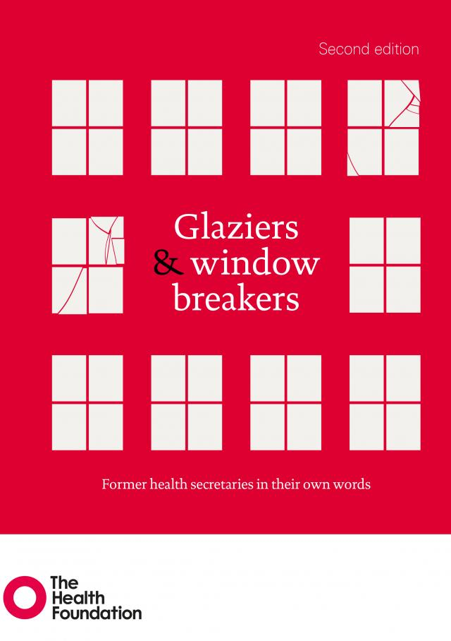 Glaziers and window breakers, former health secretaries in their own words