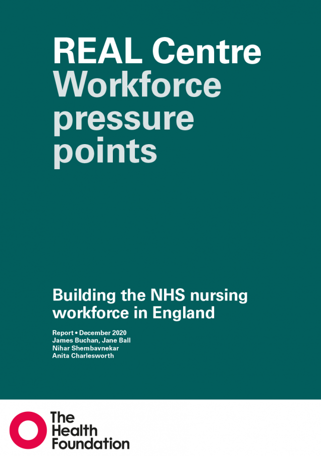 Workforce pressure points: building the NHS nursing workforce in England