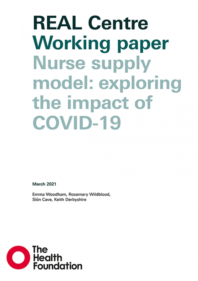 Nurse supply model: exploring the impact of COVID-19