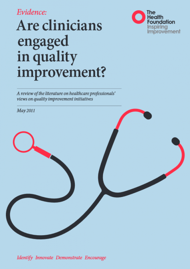 are clinicians engaged in quality improvement