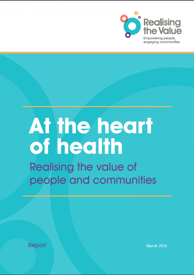 At the heart of health: Realising the value of people and