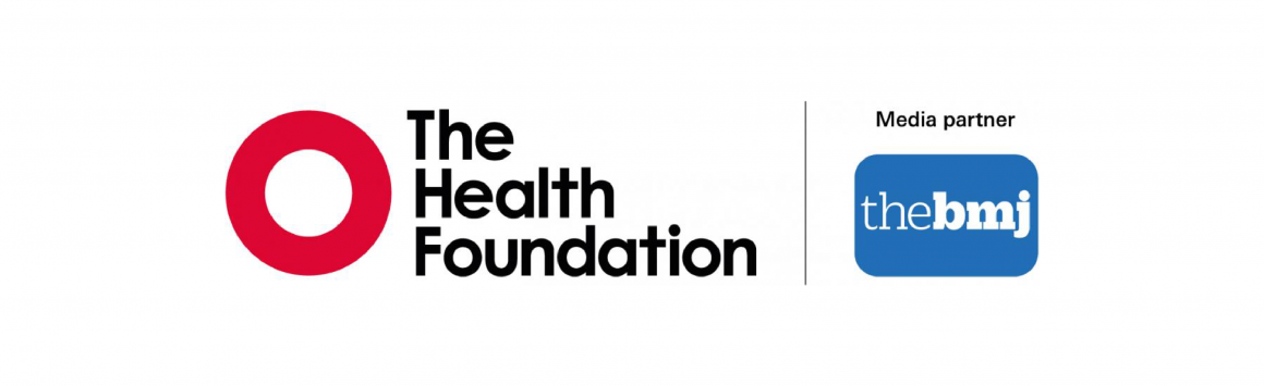 Logos for BMJ and THF
