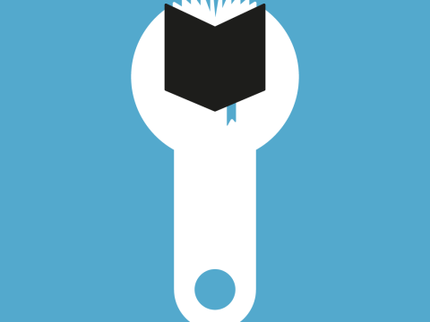 Icon for our education and skills infographic
